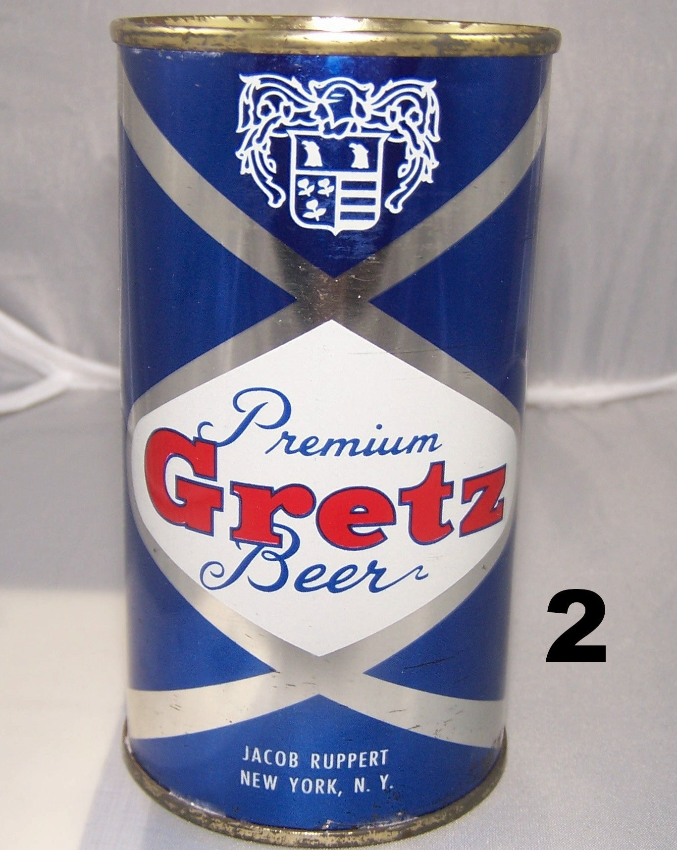Gretz Beer, USBC 74-33, Grade 1/1+ Sold on 06/08/16