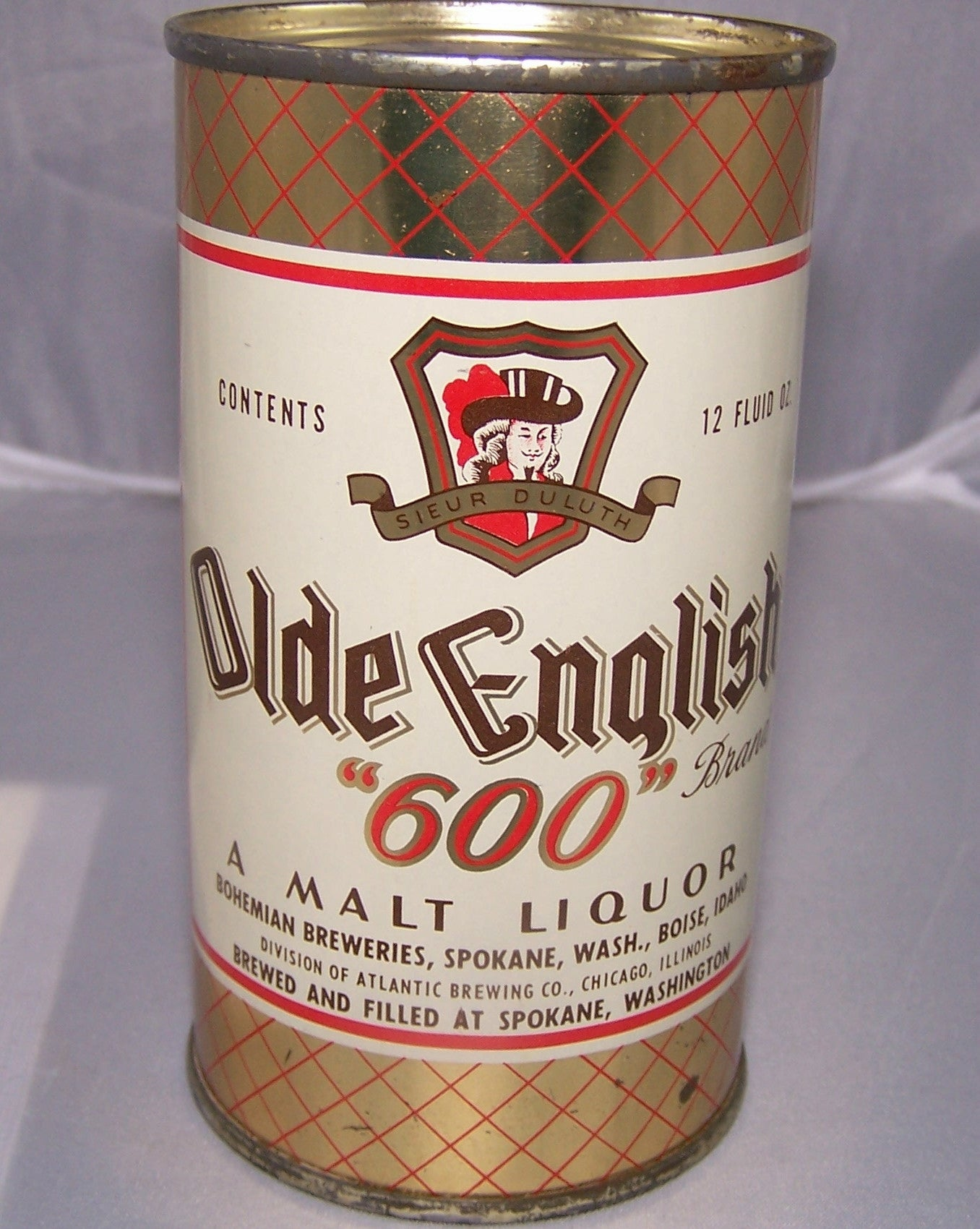 "Olde English ""600"" Malt Liquor, USBC 108-40, Grade 1 to 1/1+"