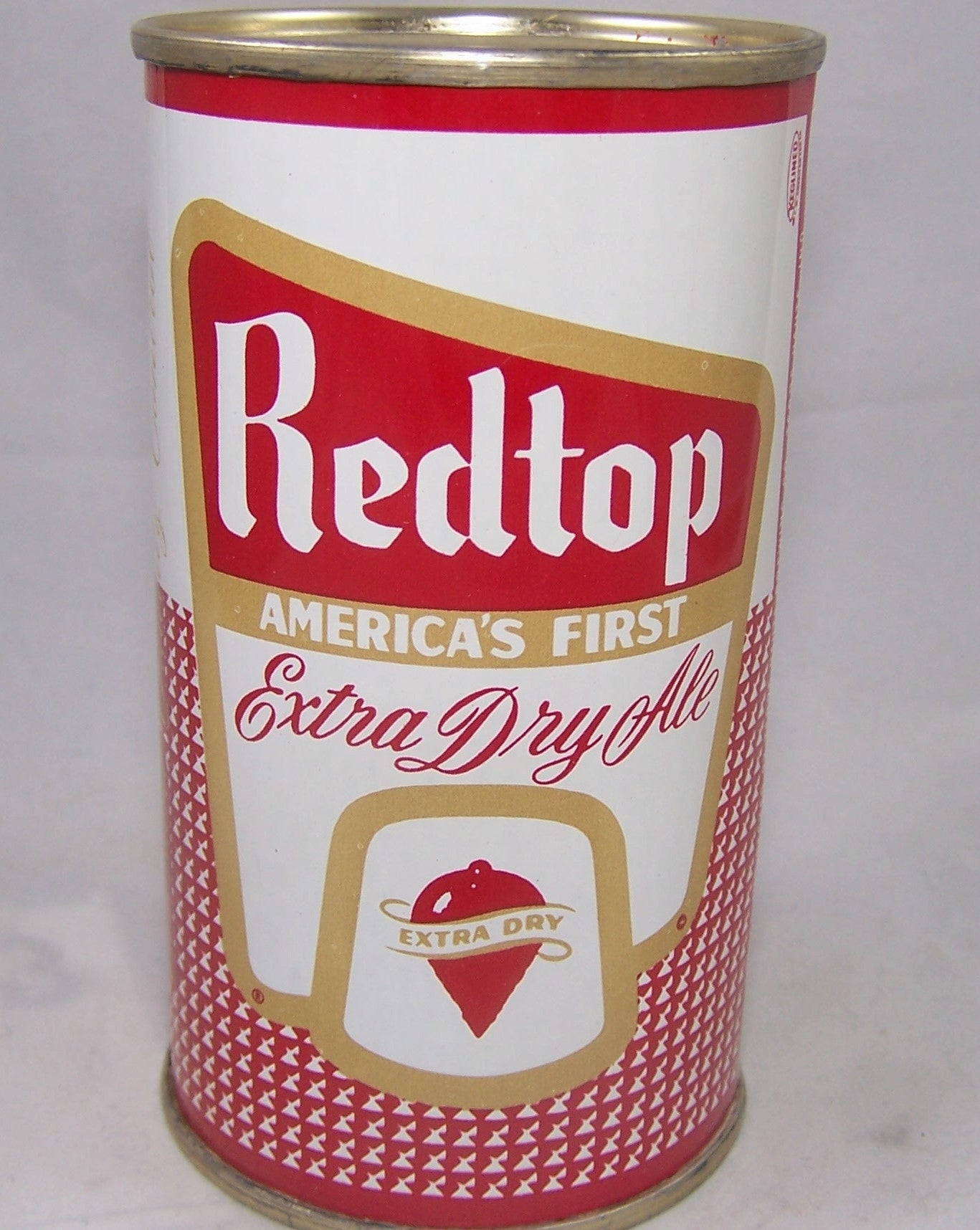 Redtop Extra Dry Ale, USBC N.L (Terre Haute) Rolled Short Sheet, Grade 1/1+ Sold on 09/19/16
