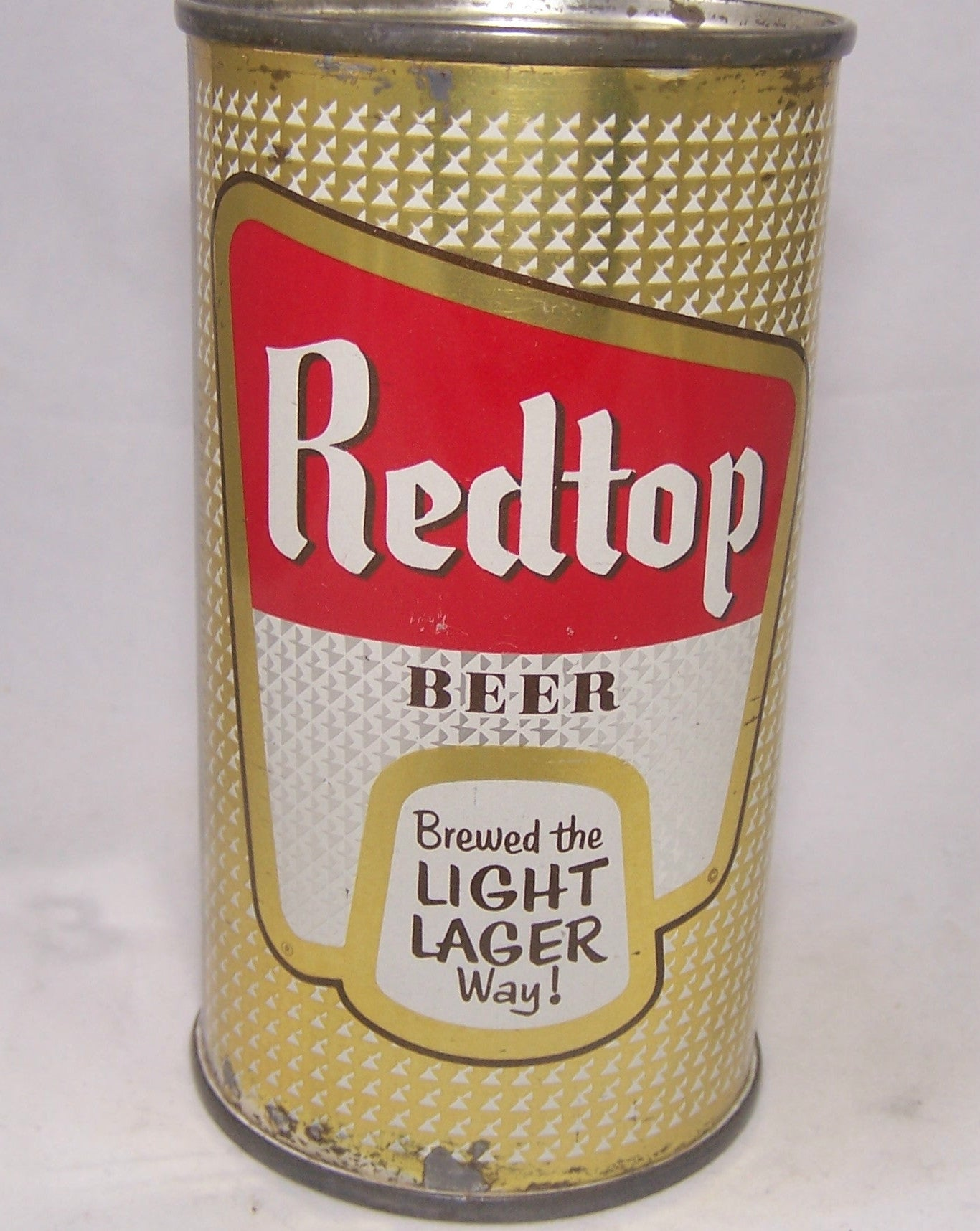 Redtop Beer (Brewed the Light Lager way) USBC 120-22, Grade 1 Sold on 09/19/16