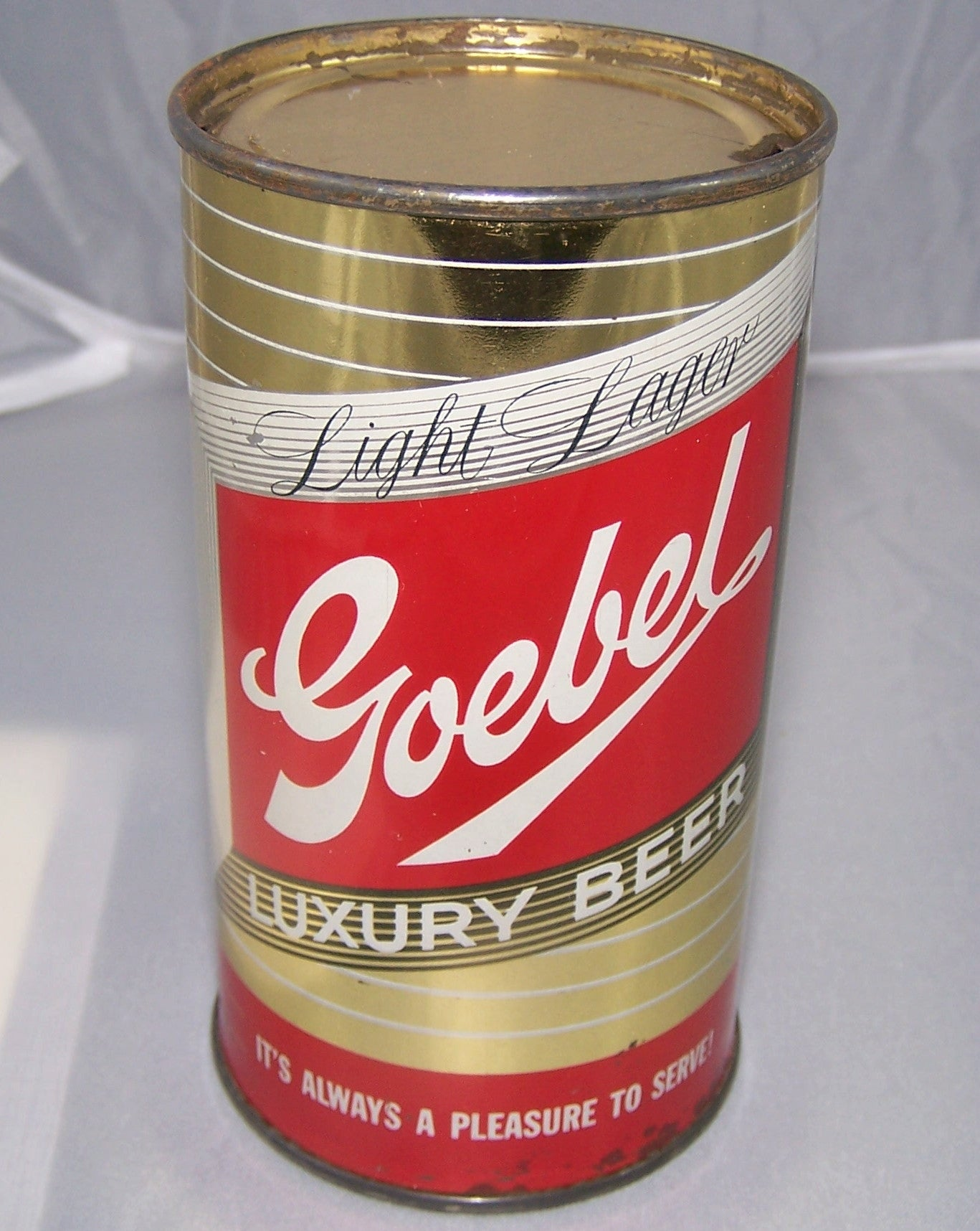 Goebel Luxury Beer, Oakland, USBC 70-26, Grade 1 to 1/1+ Sold 2/7/15