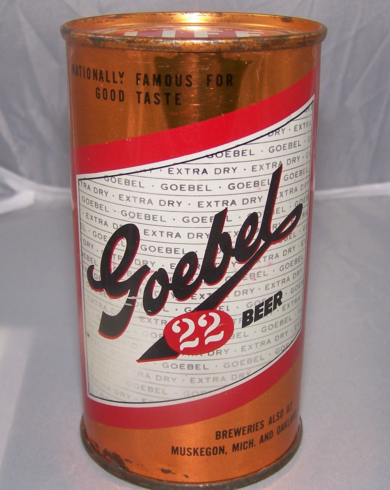 Goebel 22 Beer, USBC 71-2, Grade 1 Sold on 2/13/15