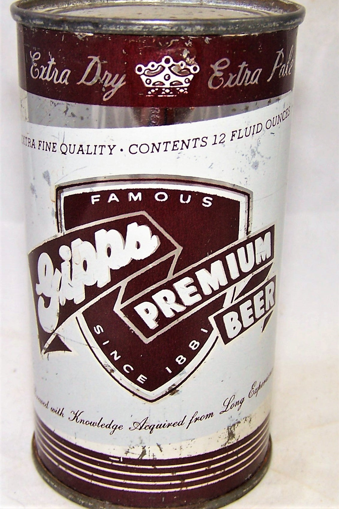 Gipps Premium Beer (All Brown) USBC 69-39, Grade 1-