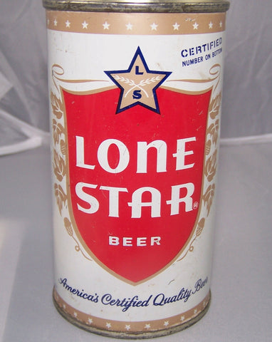 Lone Star Enamel Beer, USBC 92-14, Grade 1/1- Sold!!