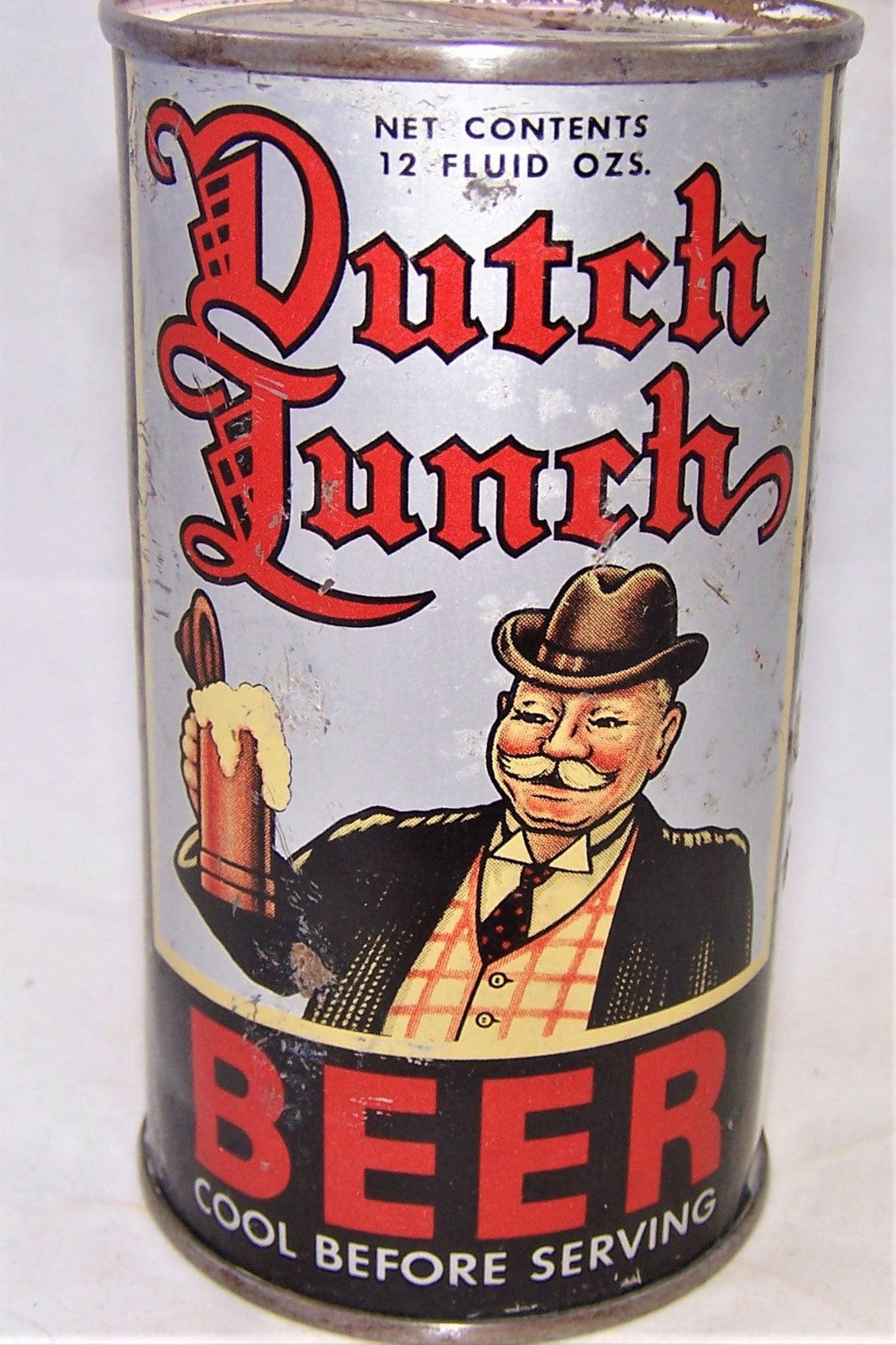 Dutch Lunch Beer, Lilek # 208 and USBC 57-26, Grade 1- Sold on 02/22/19