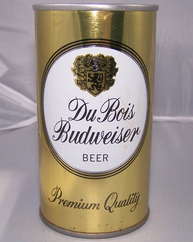Dubois Budweiser Beer, USBC II 59-38, Grade 1 to 1/1+ Sold on 12/01/16