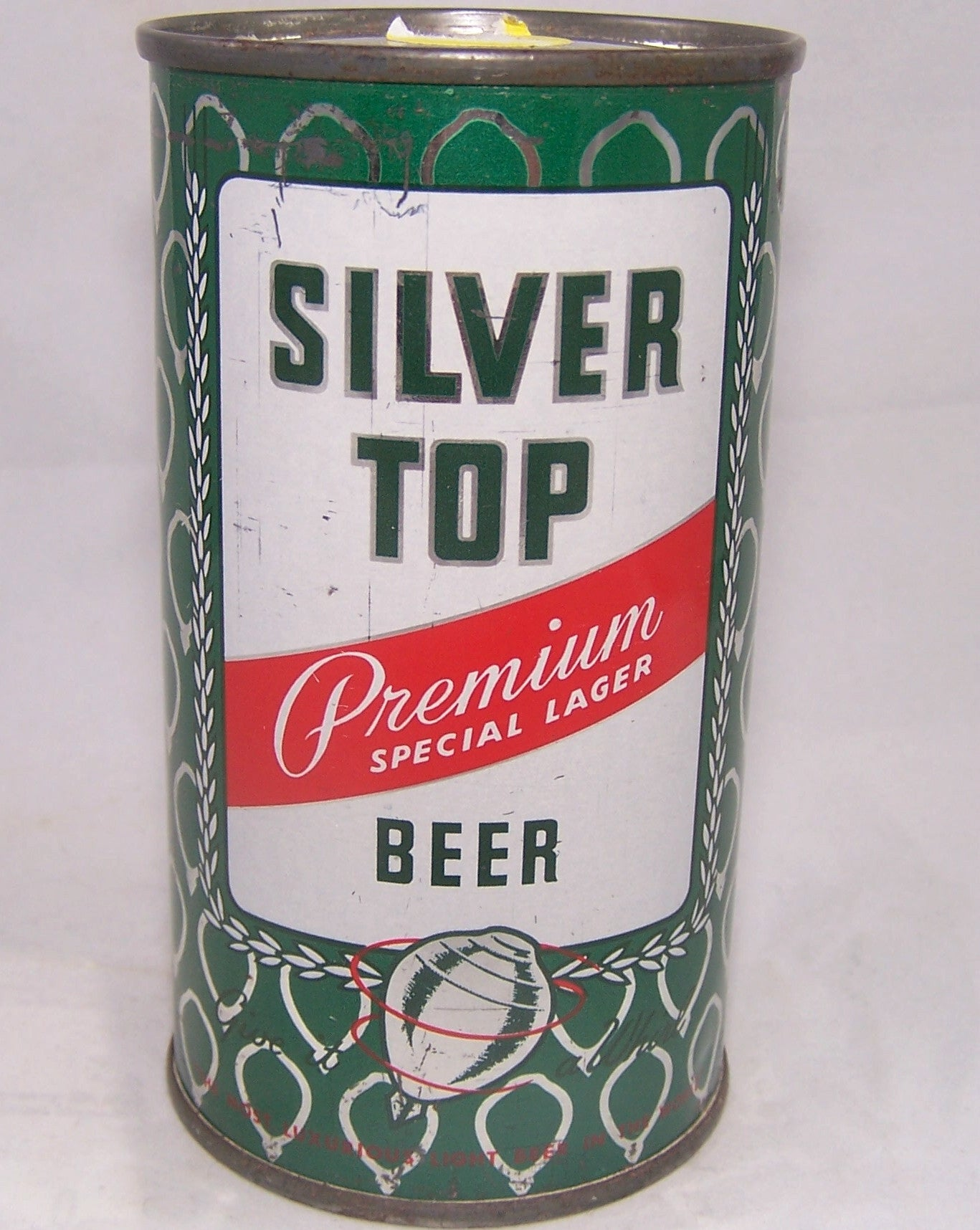 Silver Top Premium Lager Beer, USBC 134-22, Grade 1/1- sold on 09/21/16