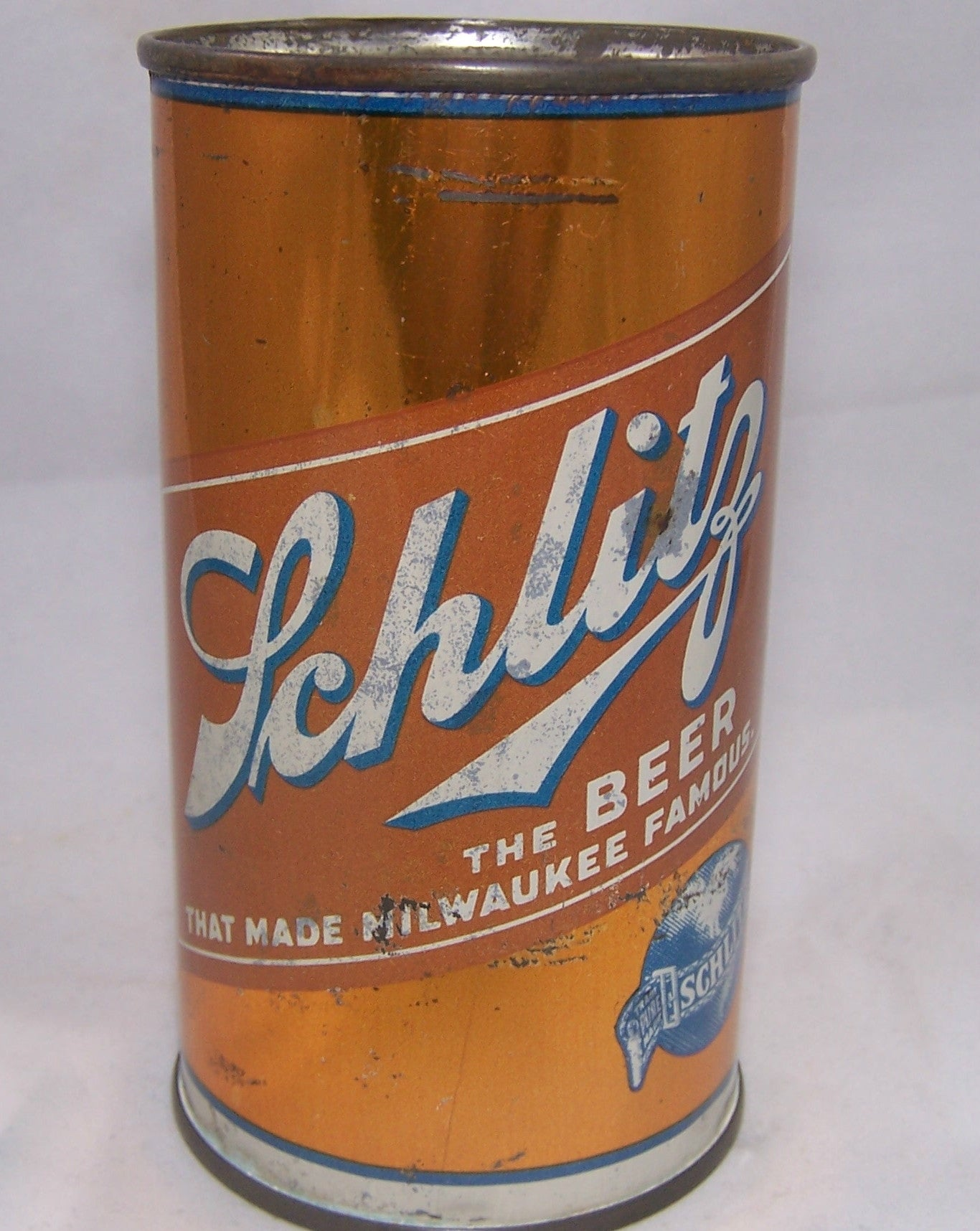 Schlitz Beer, USBC 129-15, Grade 1-/2+ Traded on 08/26/17