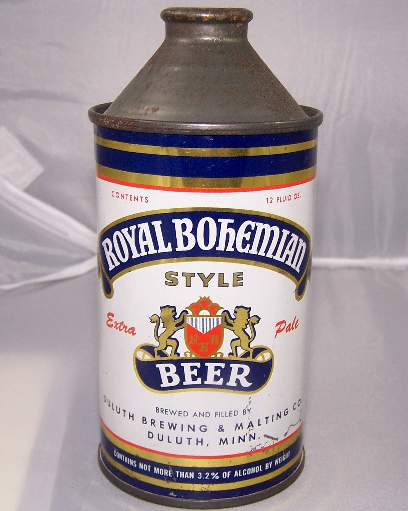 Royal Bohemian Style Beer, CNMT 3.2% USBC 182-17, Grade 1/1- Sold on 01/03/16