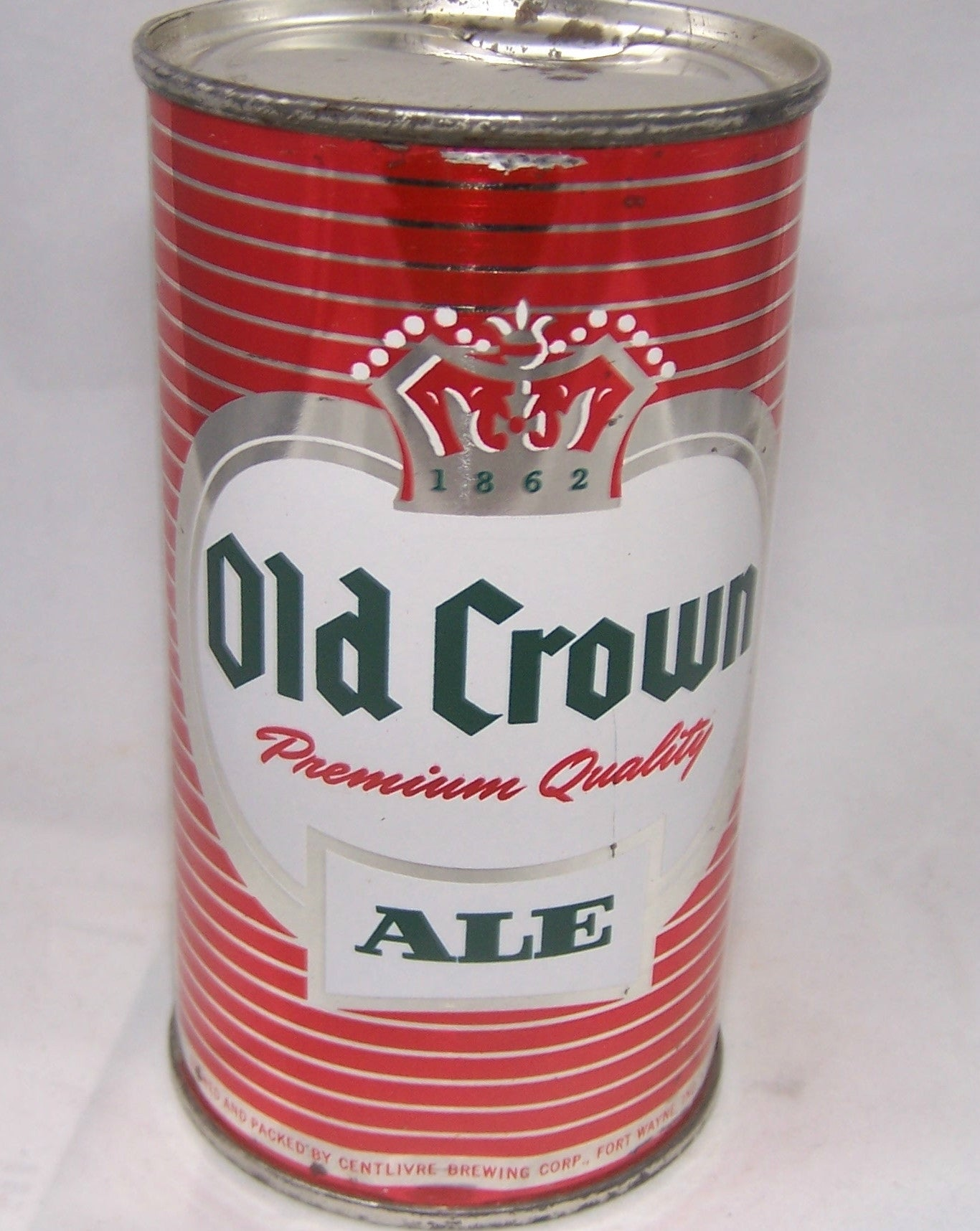 Old Crown set can (Red) USBC 105-14, Grade 1/1+ SOLD ON 09/23/16