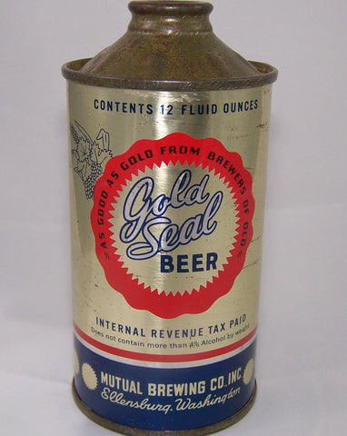 Gold Seal Beer, USBC 166-4, Grade 1 sold on 10/10/15