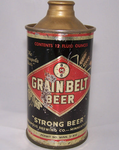Grain Belt Strong Beer, USBC 166-29, Grade 1-/2+  Sold on 08/05/18