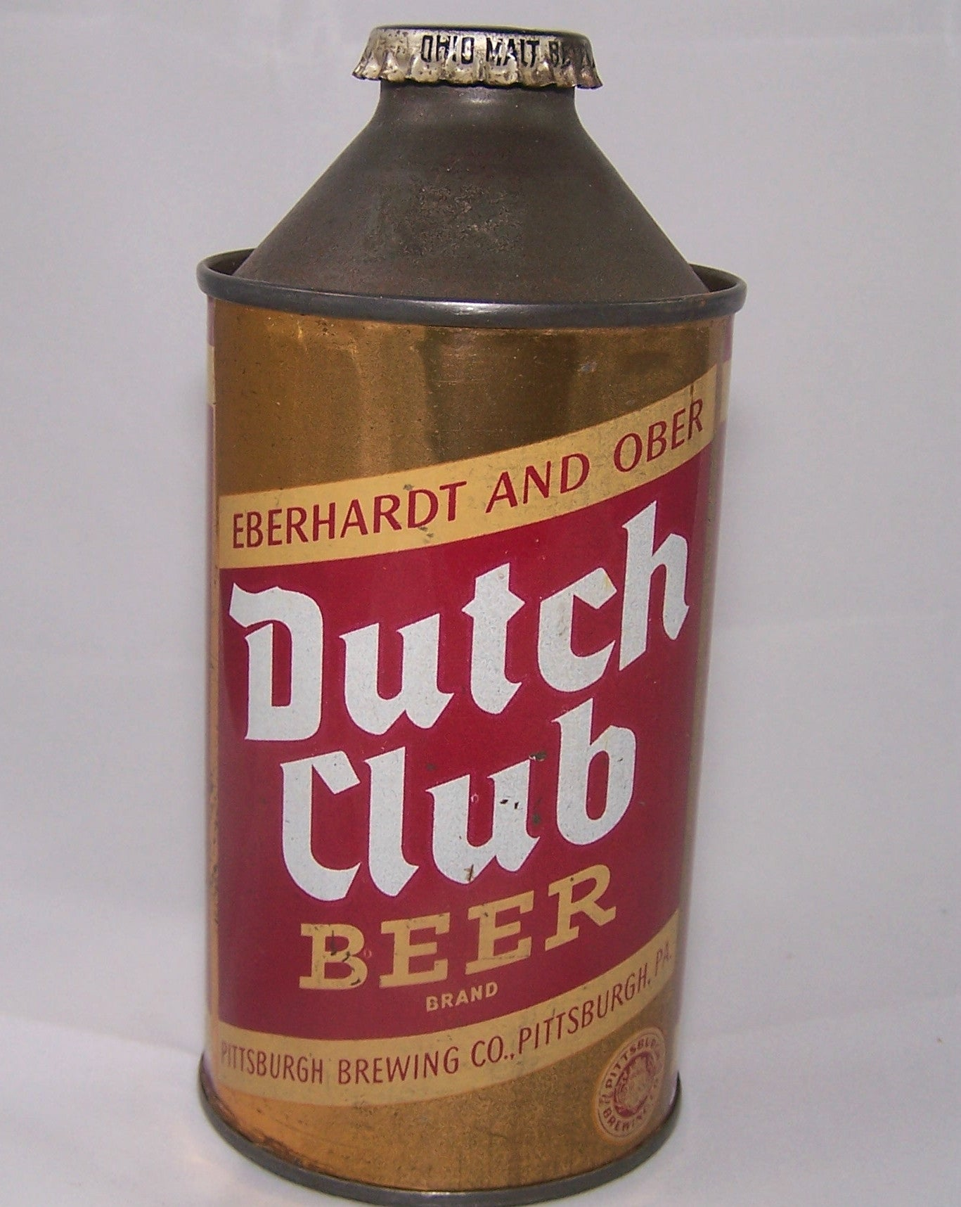 Dutch Club Beer, USBC 160-8, Grade 1/1- Sold 3/14/15