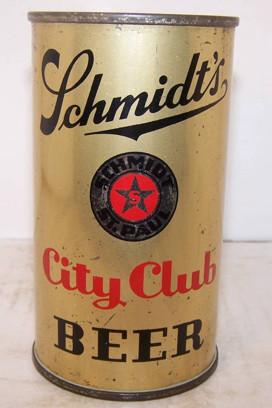SCHMIDT'S CITY CLUB Sold $200.00 10/23/14 Prices Trending down