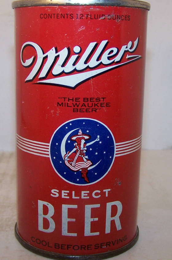 Miller Sold on 10/23/14 for $300.00 prices trending steady for a can with new lid.