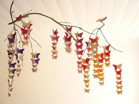 Butterfly Mobile - Custom Ombre Colours