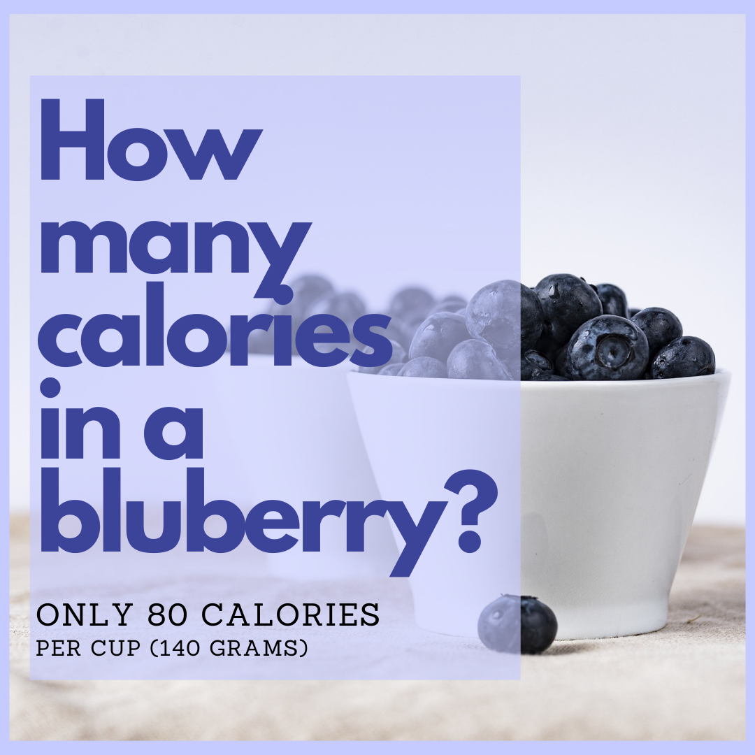 how many calories in blueberries? article by the blueberry barn