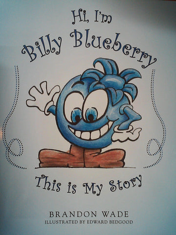 Billy Blueberry Book