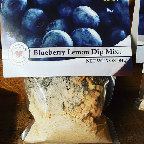 Blueberry Lemon Dip Mix