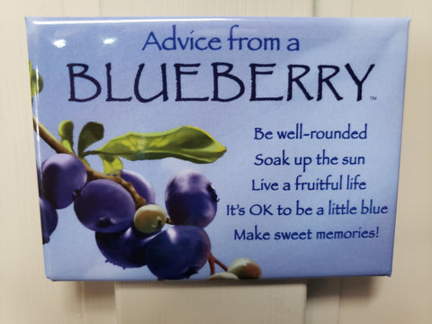 Advice from a Blueberry magnet