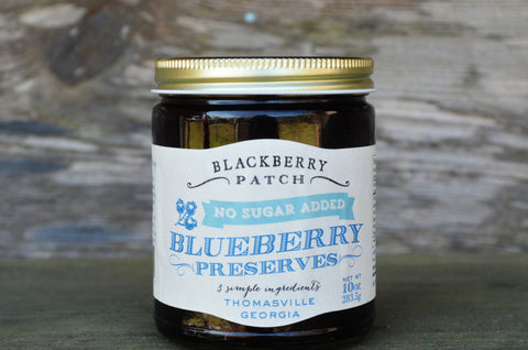No Sugar Added Blueberry Preserves