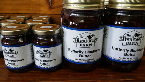 Blueberry Butterfly Butter