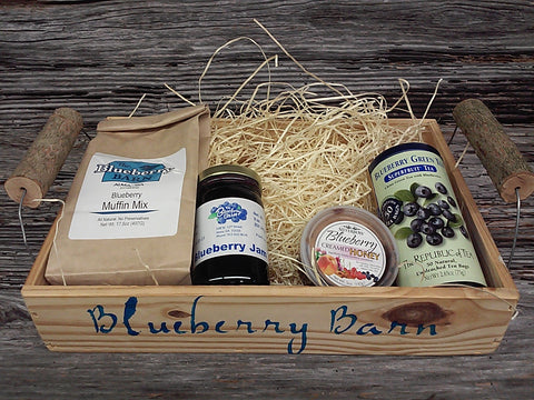 Blueberries and Tea Box