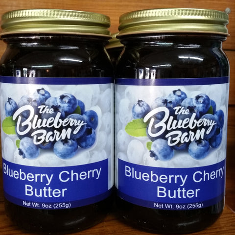 Blueberry Cherry Butter
