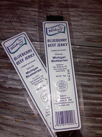 Blueberry Beef Jerky
