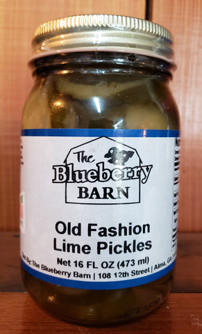Old Fashioned Lime Pickles