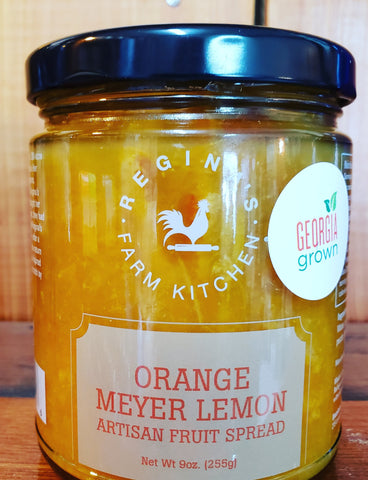 Orange Meyer Lemon spread
