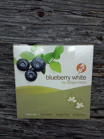 Adagio Teas:   Blueberry White Tea