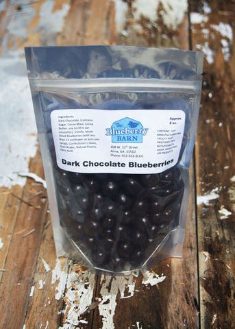 Dark Chocolate Covered Blueberries