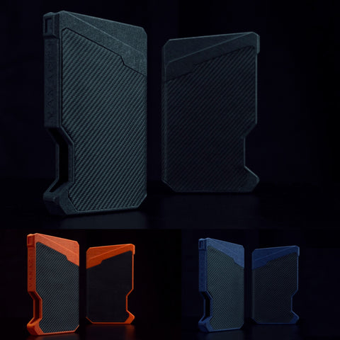 Stealth Spirit in Black, Denim Blue & Orange