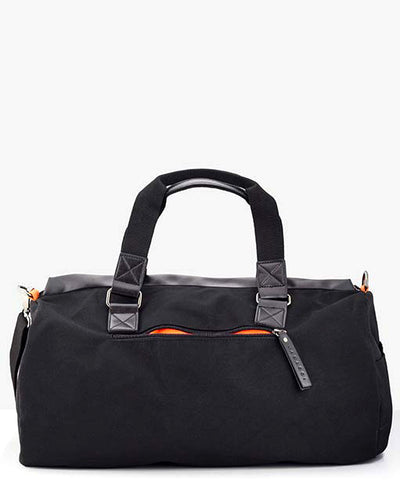 Vanacci canvas duffle bag Back
