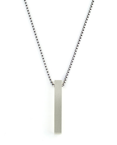 Vanacci mens element pendant in Chromium on a stainless steel chain