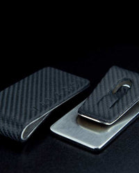 Vanacci Money Clip in Brushed Steel