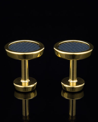 24 Carat Gold Origin Cufflinks