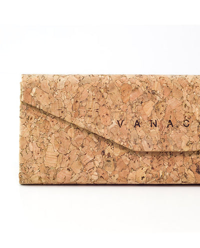 Flat Pack Cork Sunglasses Case