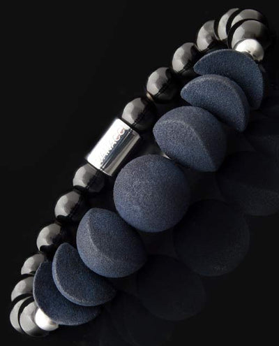 All Black Perfume Bracelet with the lunar cycle