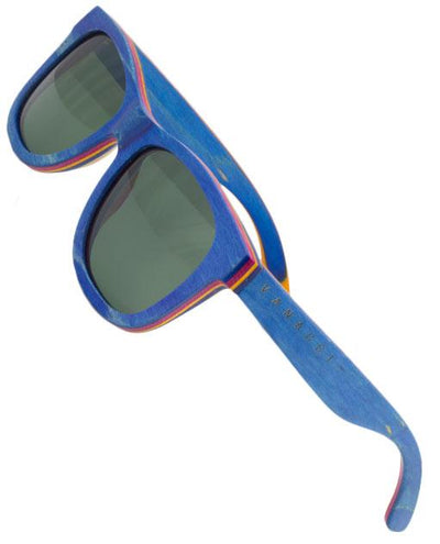 Vanacci Ocean Natural wooden Sunglasses