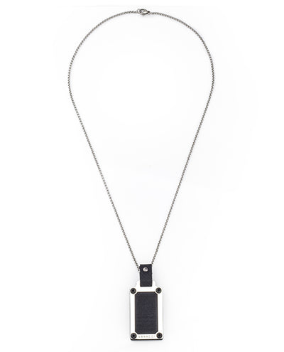 Lockstone Blackforge Stainless Steel Pendant