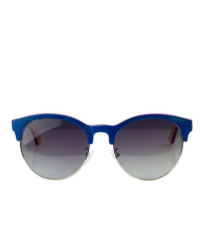 Vanacci Ocean Statement Natural Wooden Sunglasses