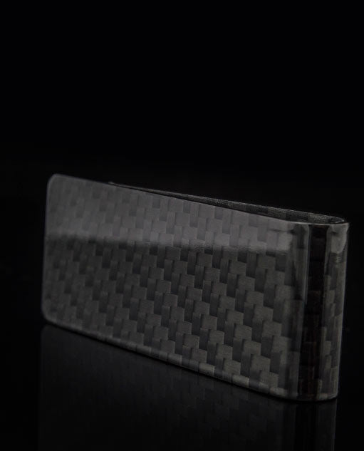 Solid Carbon Fibre Money Clip By Vanacci