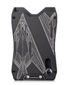 Vanacci black credit card holder. Engraved with the F-117 Nighthawk