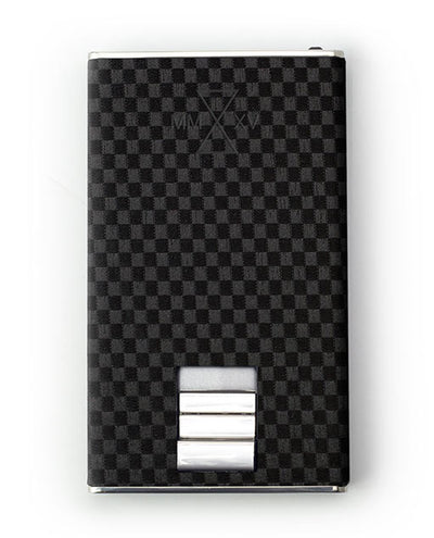 Vanacci Carbon Wallet in TT Leather front View