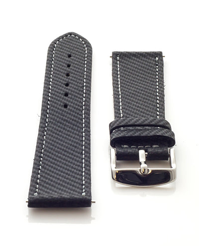 Vanacci hand made carbon fibre watch strap