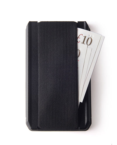 Vanacci Stealth 3 wallet showing cash strap use to the rear