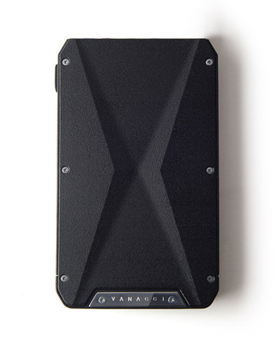 Vanacci Stealth 3 wallet front view showing X shape