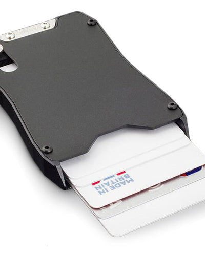 Vanacci Stealth aluminum credit card holder popping up cards